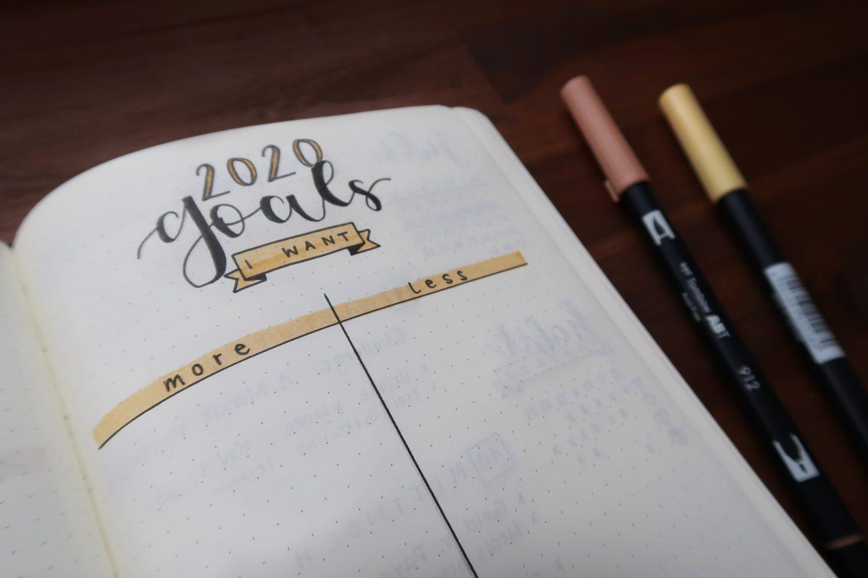 Buch, Stifte, Ziele