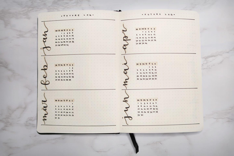 Kalender, Notizbuch, Schreibschrift