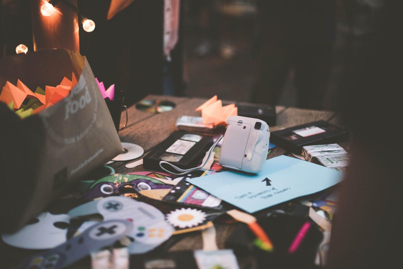 Unordnung, Zuhause, Schreibtisch