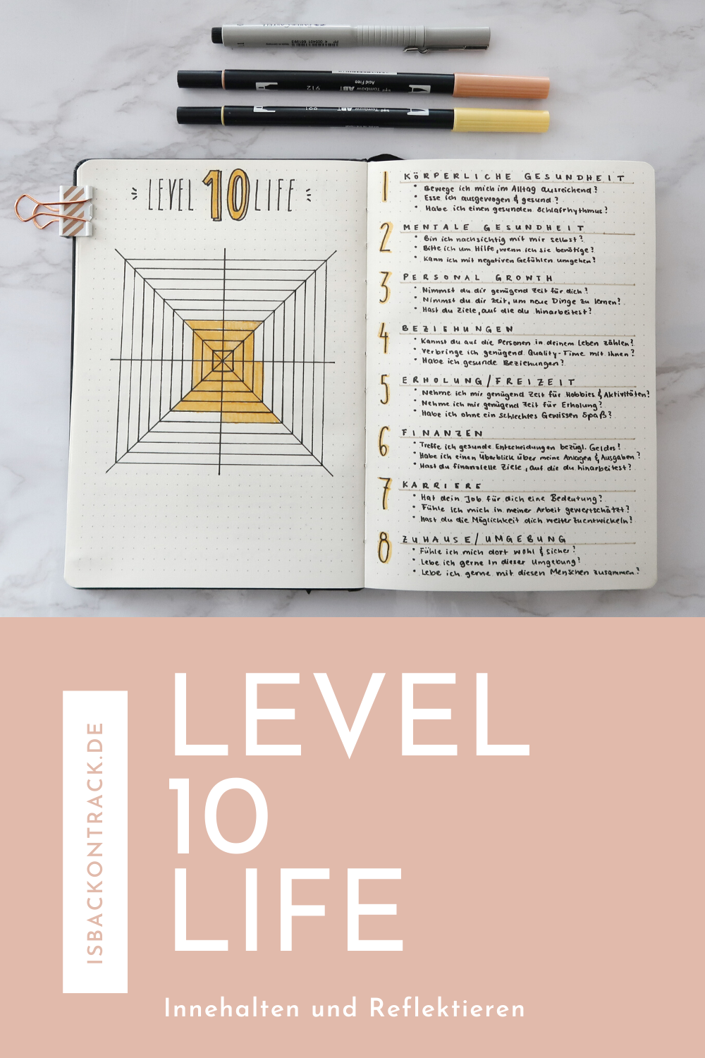 Level 10 Life, Text, Bullet Journal