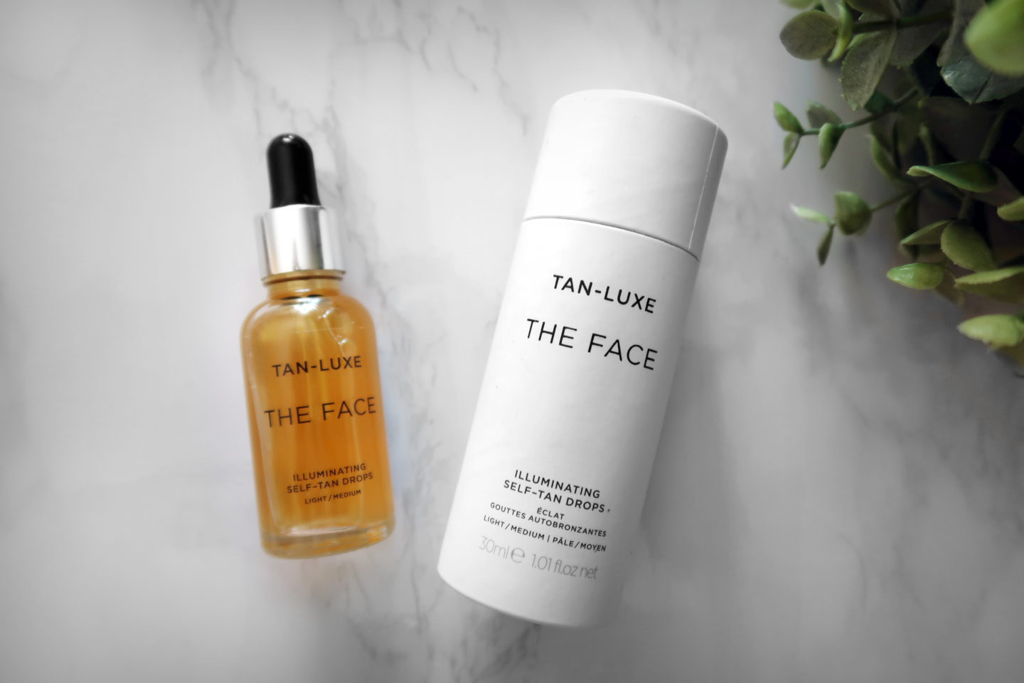Face Self tan drops