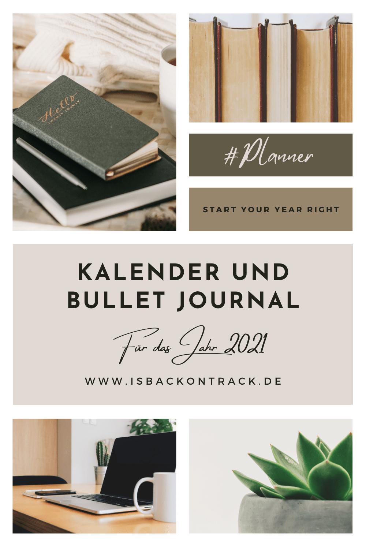 Terminplaner und Bullet Journal
